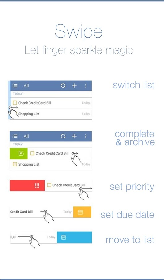 TickTick - To-do & Task List - screenshot