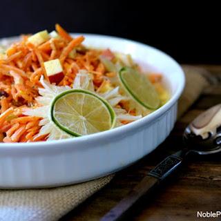 Tangy Sweet Shredded Carrot Salad.