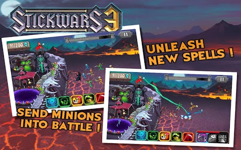 Stickwars 3 Free- screenshot thumbnail