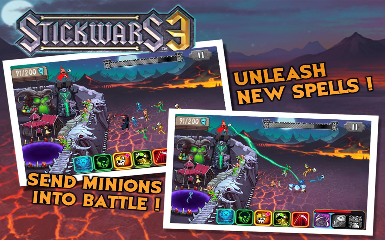 Stickwars 3 Free- screenshot