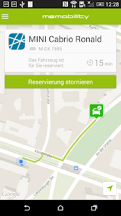 MeMobility - Carsharing- screenshot thumbnail