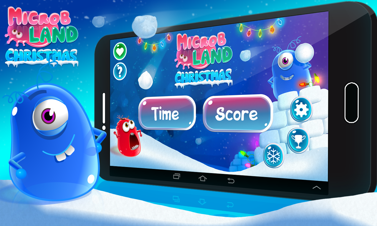 Microbes Land Christmas- screenshot