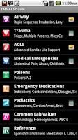 Screenshot of EMS ACLS Guide