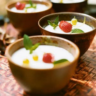 Coconut Tapioca Pudding.
