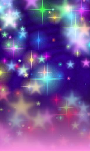 Glitter Stars FREE Wallpaper
