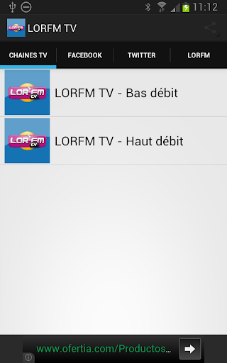 LORFM TV - La chaine TV