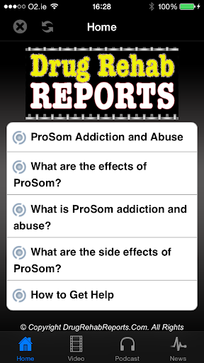 ProSom Addiction and Abuse