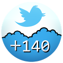 +140 : split tweet for Twitter icon