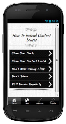 Extend Contact Lenses