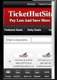 Ticket Voucher Discount Codes - screenshot thumbnail