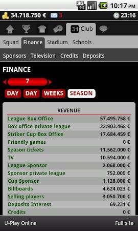 Striker Manager (soccer) 0.82 screenshot 390638