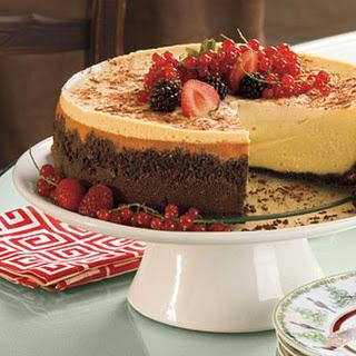 Brandy Alexander Cheesecake.