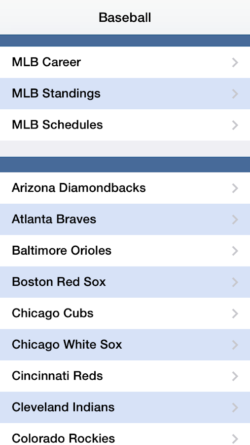 Baseball Live- screenshot