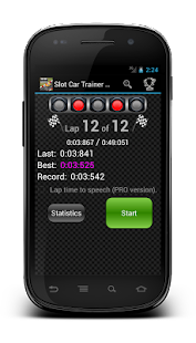 Slot Car Trainer Free - screenshot thumbnail