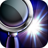 Magnifying Glass Flashlight+