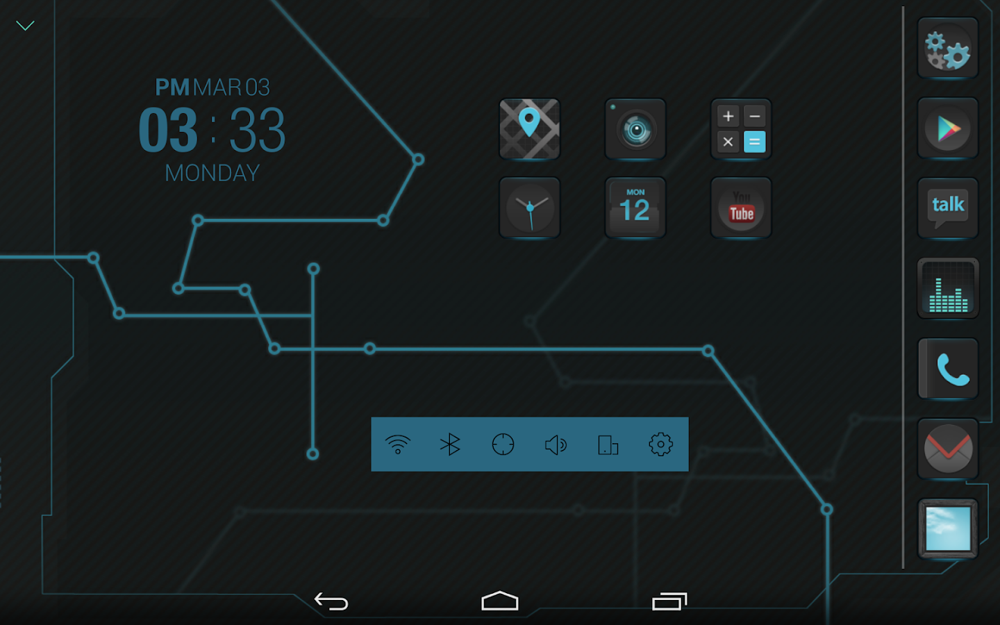 IRON Atom theme - screenshot
