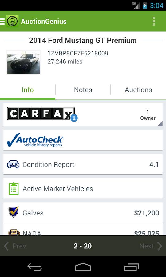 AuctionGenius - screenshot