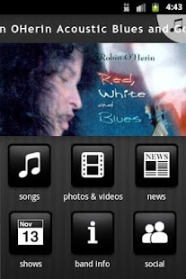 Robin OHerin Acoustic Blues an - screenshot thumbnail