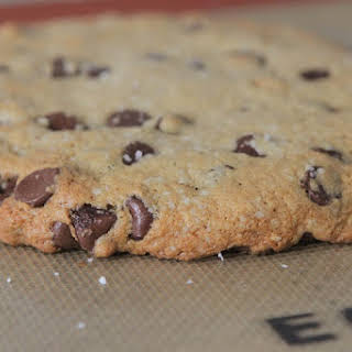 Brown Butter Salted Chocolate Chip Cookie for One.