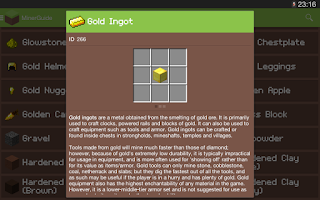 Screenshot of MinerGuide - For Minecraft