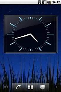 SWAP 4x3 Analog Clock Widget- screenshot thumbnail