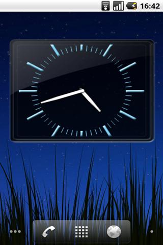 SWAP 4x3 Analog Clock Widget- screenshot