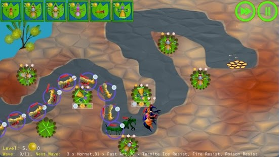 Anthill Defenders Tower Defens- screenshot thumbnail