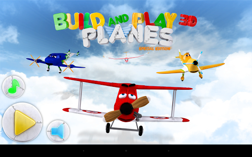 Build Play 3D Planes Edition