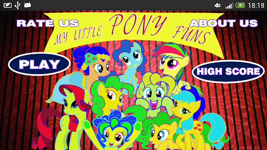 My Little Pony Fun With Colors