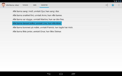 【免費娛樂App】Alle Barna-vitser-APP點子