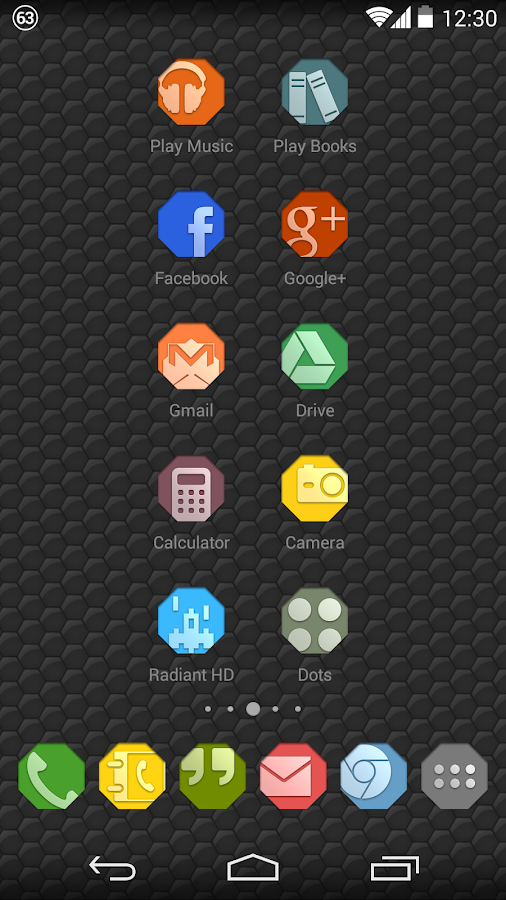Octy - Icon Pack - screenshot