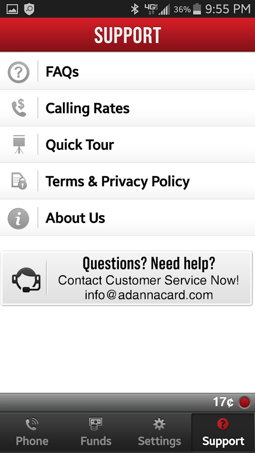 Adanna - International Calling- screenshot