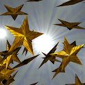 Gold Stars 3D Live Wallpaper logo