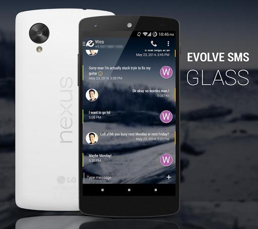 EvolveSMS Theme - Glass