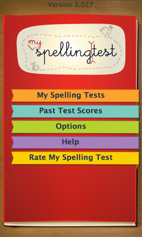 Spelling Test by FunExam.com - screenshot