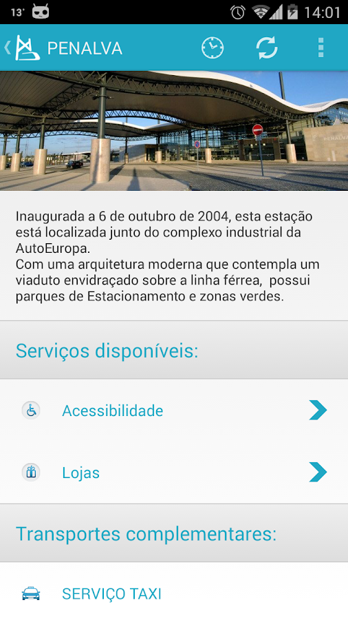 Fertagus- screenshot