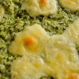 Green Rice Gratin