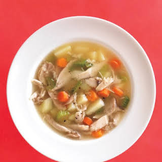 Classic Chicken-Vegetable Soup.