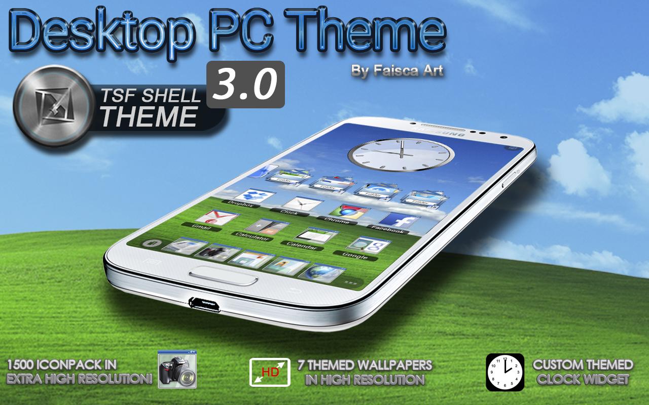 Google themes pc - Tsf Shell Hd Theme Desktop Pc Google Play Store Revenue Download Estimates Colombia