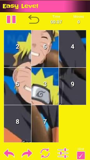 Puzzle Manga Naruto