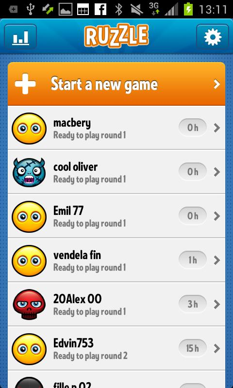 Ruzzle Free - screenshot
