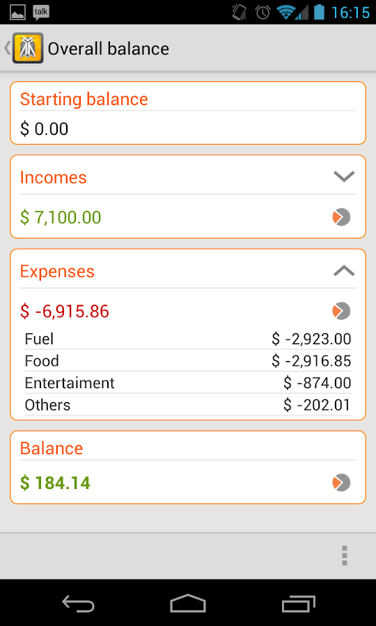 Owl Money Manager Pro - screenshot