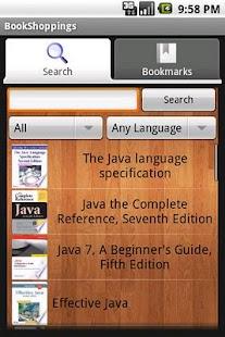 BookShoppings- screenshot thumbnail