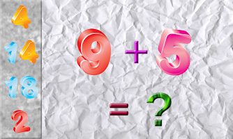 Screenshot of Puzzles Math Game for Kids !