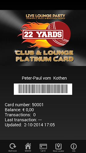 Club 22 Yards