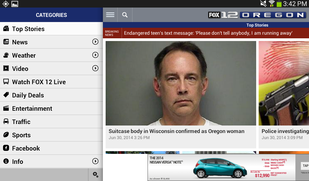 FOX12 Oregon - screenshot