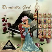 Romantic Girl Go Launcher EX