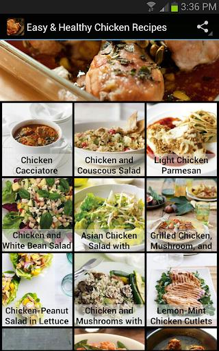 健康的鸡肉食谱
