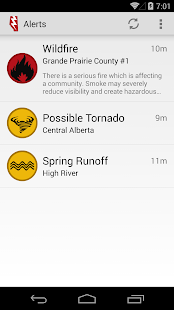 Alberta Emergency Alert - screenshot thumbnail