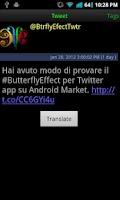 Screenshot of #butterflyEffect